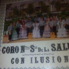 Discos de vinilo: RA. ,LP.DISCO VINILO.CORO DE NUESTRA SEÑORA DE LA SALUD CON ILUSION. Lote 75756903