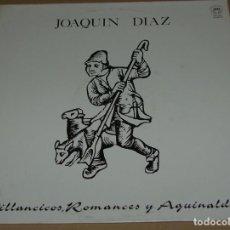 Discos de vinilo: JOAQUIN DIAZ - VILLANCICOS, ROMANCES Y AGUINALDOS - SAGA 1989. Lote 108430816