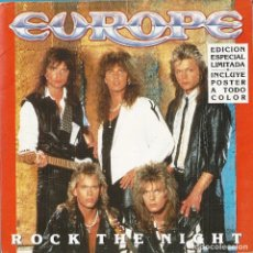 Discos de vinilo: EUROPE: ROCK THE NIGHT / SEVEN DOORS HOTEL. Lote 75766547