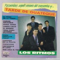 Discos de vinilo: LOS RITMOS - TARDE DE GUATEQUE (SINGLE 7'' 1987, PERFIL SN-45.034). Lote 75774283