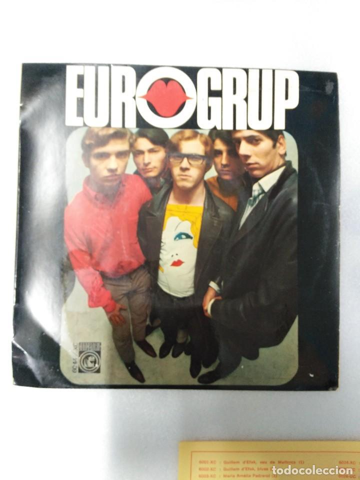 EUROGRUP-L´ESTIU A CIUTAT EP - CONTIENE LAS HOJAS DE LAS CANCIONES (Música - Discos de Vinilo - EPs - Solistas Españoles de los 50 y 60)