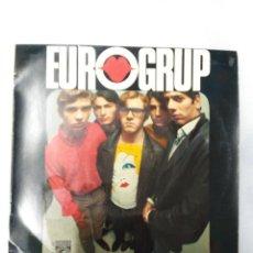 Discos de vinilo: EUROGRUP-L´ESTIU A CIUTAT EP - CONTIENE LAS HOJAS DE LAS CANCIONES. Lote 75786107