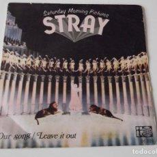 Discos de vinilo: STRAY - OUR SONG. Lote 75792799