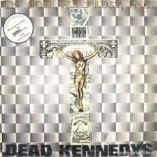 Discos de vinilo: DEAD KENNEDYS - IN GOD WE TRUST, INC. (MAXI, VINILO, STATIK VIC 1983). Lote 75795131