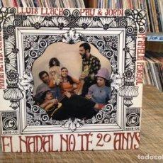 Discos de vinilo: PAU RIBA - EL NADAL NO TÉ 20 ANYS -. Lote 75806542