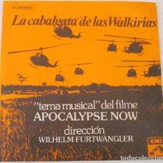 Discos de vinilo: APOCALYPSE NOW - LA CABALGATA DE LAS WALKIRIAS EMI - 1979. Lote 75809731