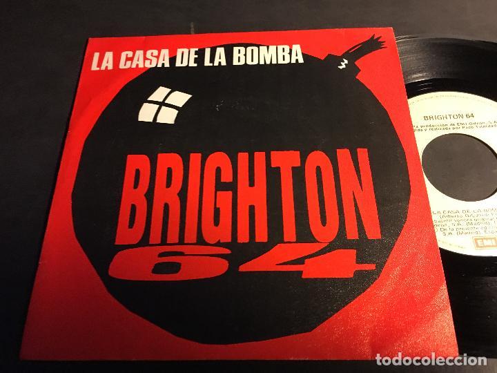 BRIGHTON 64 (LA CASA DE LA BOMBA / EL REY DE COPAS) SINGLE ESPAÑA 1986 (EPI5) (Música - Discos - Singles Vinilo - Grupos Españoles de los 70 y 80)