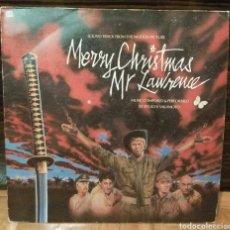 Discos de vinilo: VINILO LP BANDA SONORA MERRY CHRISTMAS MR LAWRENCE DAVID BOWIE RYUICHI SAKAMOTO 1983. Lote 75829482
