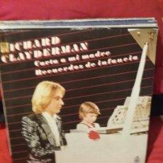 Discos de vinilo: RICHARD CLAYDERMAN ?– CARTA A MI MADRE / RECUERDOS DE INFANCIA. Lote 75830923