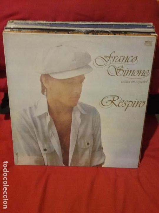 FRANCO SIMONE ?– RESPIRO (Música - Discos - LP Vinilo - Canción Francesa e Italiana)