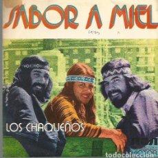 Discos de vinilo: LOS CHAQUEÑOS SINGLE SELLO RCA VICTOR AÑO 1974 EDITADO EN ESPAÑA, PROMOCIONAL. Lote 75840295