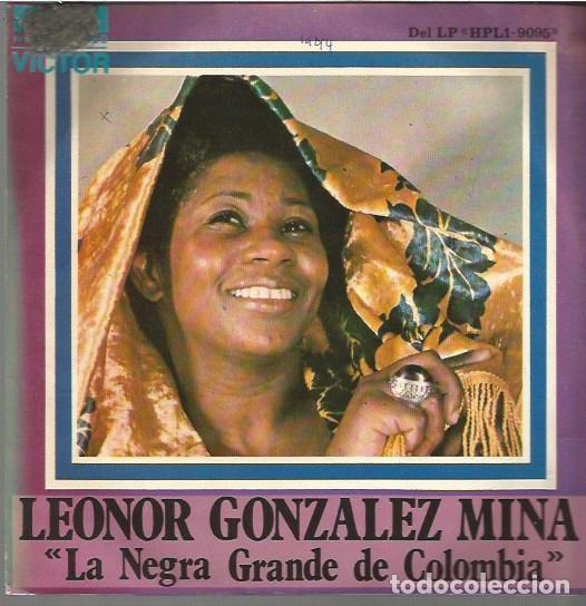 LEONOR GONZALEZ MINA SINGLE SELLO RCA VICTOR AÑO 1974 EDITADO EN ESPAÑA, PROMOCIONAL (Música - Discos - Singles Vinilo - Grupos y Solistas de latinoamérica)