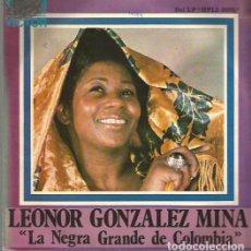 Discos de vinilo: LEONOR GONZALEZ MINA SINGLE SELLO RCA VICTOR AÑO 1974 EDITADO EN ESPAÑA, PROMOCIONAL. Lote 75840431