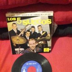 Discos de vinilo: LOS 5 SUECOS / LA SEÑORITA MARILO / MUCHACHO DEL SUR + 2 (EP 1963). Lote 75842707