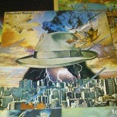 Discos de vinilo: WEATHER REPORT - 5 LP - SWEETNIGHTER MYSTERIOUS TRAVELLER MERCADO NEGRO HEAVY WEATHER REPORT. Lote 75846327