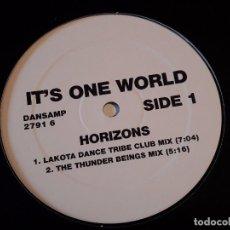 Discos de vinilo - It's One World - Horizons - 1995 - 75860507