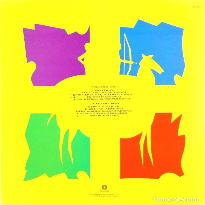 Discos de vinilo: CIUDAD JARDIN - PRIMERO ASÍ, Y LUEGO MÁS (LP, Vinilo, Fonomusic - 1990) - Foto 2 - 75869175