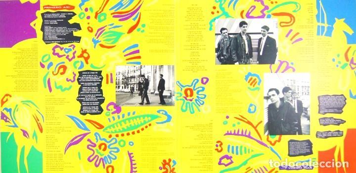 Discos de vinilo: CIUDAD JARDIN - PRIMERO ASÍ, Y LUEGO MÁS (LP, Vinilo, Fonomusic - 1990) - Foto 5 - 75869175
