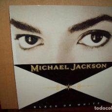 Discos de vinilo: MICHAEL JACKSON - BLACK OR WHITE - MAXI SINGLE 1991. Lote 75876739