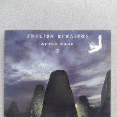 Discos de vinilo: ENGLISH EVENINGS AFTER DARK. Lote 75877499
