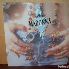 Discos de vinilo: MADONNA - LIKE A PLAYER - LP FABRICADO EN ALEMANIA . Lote 75879323