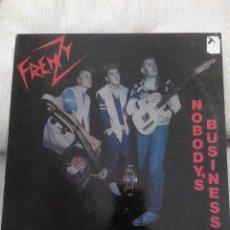 Discos de vinilo: FRENZY NOBODY'S BUSINESS. Lote 75916047