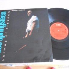 Discos de vinilo: BRUCE SPRINGSTEEN- MAXI CON 4 TEMAS-CHIMES OF FREEDOM-ESPAÑOL 1988. Lote 75917351