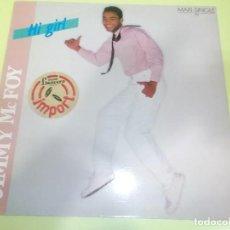 Discos de vinilo: JIMMY MC FOY HI GRIL HI GRILD DJ MIX ARIOLA. Lote 75919507