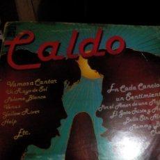 Discos de vinilo: RL. DISCO VINILO___CALDO, POR EL AMOR DE UNA MUJER/EL GATO QUE ESTA TRISTE Y AZUL/BELLA SIN ALMA/ETC. Lote 75928051