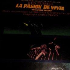 Discos de vinilo: LP.DISCO VINILO____BANDA SONORA DE LA PELICULA DE KEN RUSSELL,LA PASION DE VIVIR. Lote 75936887