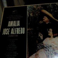 Discos de vinilo: RA. LP.DISCO VINILO__AMALIA Y JOSE ALFREDO,LAS VOCES MAS QUERIDAS DE MEXICO,. Lote 75937795