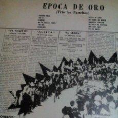 Discos de vinilo: RA. LP.DISCO VINILO__EPOCA DE ORO ,TRIO LOS PANCHOS/. Lote 75938287