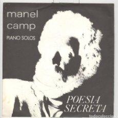 Discos de vinil: MANEL CAMP. PIANO SOLOS. POESIA SECRETA. PEGASUS 1984. PERFCETO. SP . Lote 75958007