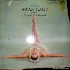 Discos de vinilo: SWAN LAKE. LEOPOLD STOKOWSKI.. Lote 75976467