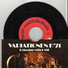 Discos de vinilo: LUIGI PELLIGIONI SINGLE VARIATIONEN K'71.ALEMANIA 1971. Lote 75996811