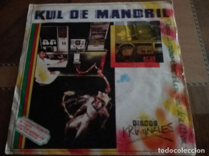 Discos de vinilo: KUL DE MANDRIL JAMON DE MONO DISCOS KRIMINALES - Foto 3 - 65955998