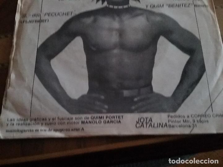 Discos de vinilo: KUL DE MANDRIL JAMON DE MONO DISCOS KRIMINALES - Foto 4 - 65955998
