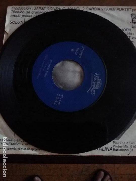 Discos de vinilo: KUL DE MANDRIL JAMON DE MONO DISCOS KRIMINALES - Foto 7 - 65955998