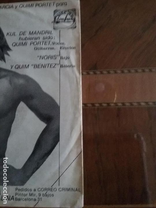 Discos de vinilo: KUL DE MANDRIL JAMON DE MONO DISCOS KRIMINALES - Foto 10 - 65955998