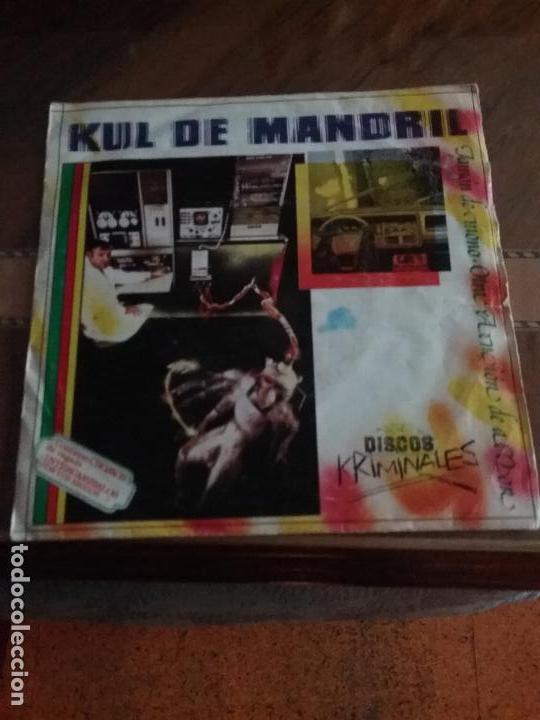 Discos de vinilo: KUL DE MANDRIL JAMON DE MONO DISCOS KRIMINALES - Foto 13 - 65955998