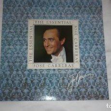 Discos de vinilo: JOSÉ CARRERAS THE ESSENTIAL. Lote 76024831