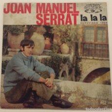 Discos de vinilo: JOAN MANUEL SERRAT - EUROVISIÓN 1968. Lote 76025311