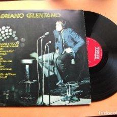 Discos de vinilo: ADRIANO CELENTANO-LP ORLADOR SPAIN 1974 PEPETO. Lote 76025571