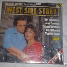 Discos de vinilo: WEST SIDE STORY JOSÉ CARRERAS LEONARD BERNSTEIN. Lote 76026063