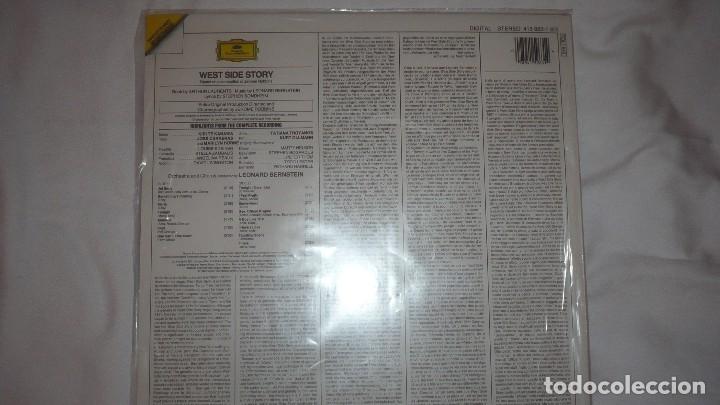 Discos de vinilo: WEST SIDE STORY JOSÉ CARRERAS LEONARD BERNSTEIN - Foto 3 - 76026063