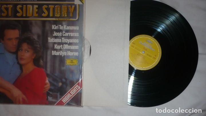 Discos de vinilo: WEST SIDE STORY JOSÉ CARRERAS LEONARD BERNSTEIN - Foto 4 - 76026063