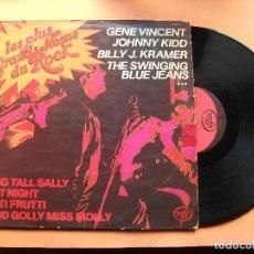 Discos de vinilo: LES PLUS GRANS NOMS DU ROCK LP MFP MONO 1977 FRANCE PEPETO. Lote 76026419