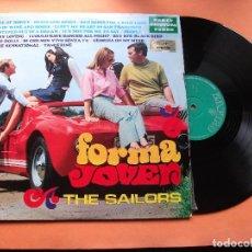 Discos de vinilo: THE SAILORS FORMA JOVEN LP SPAIN 1969 PDELUXE . Lote 76028471