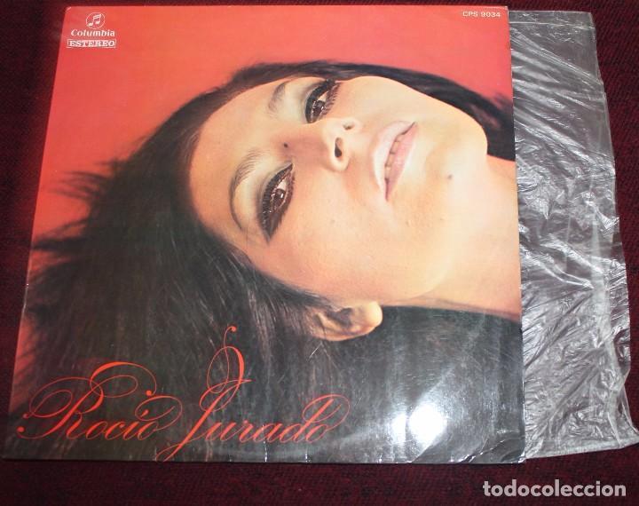 Discos de vinilo: ROCIO JURADO-Funda del Disco 1969 COLUMBIA CPS 9034 - Foto 2 - 76049287