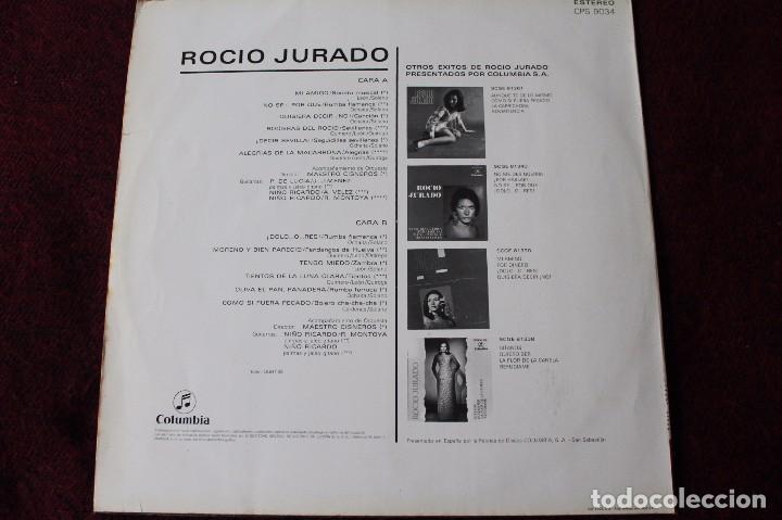 Discos de vinilo: ROCIO JURADO-Funda del Disco 1969 COLUMBIA CPS 9034 - Foto 3 - 76049287